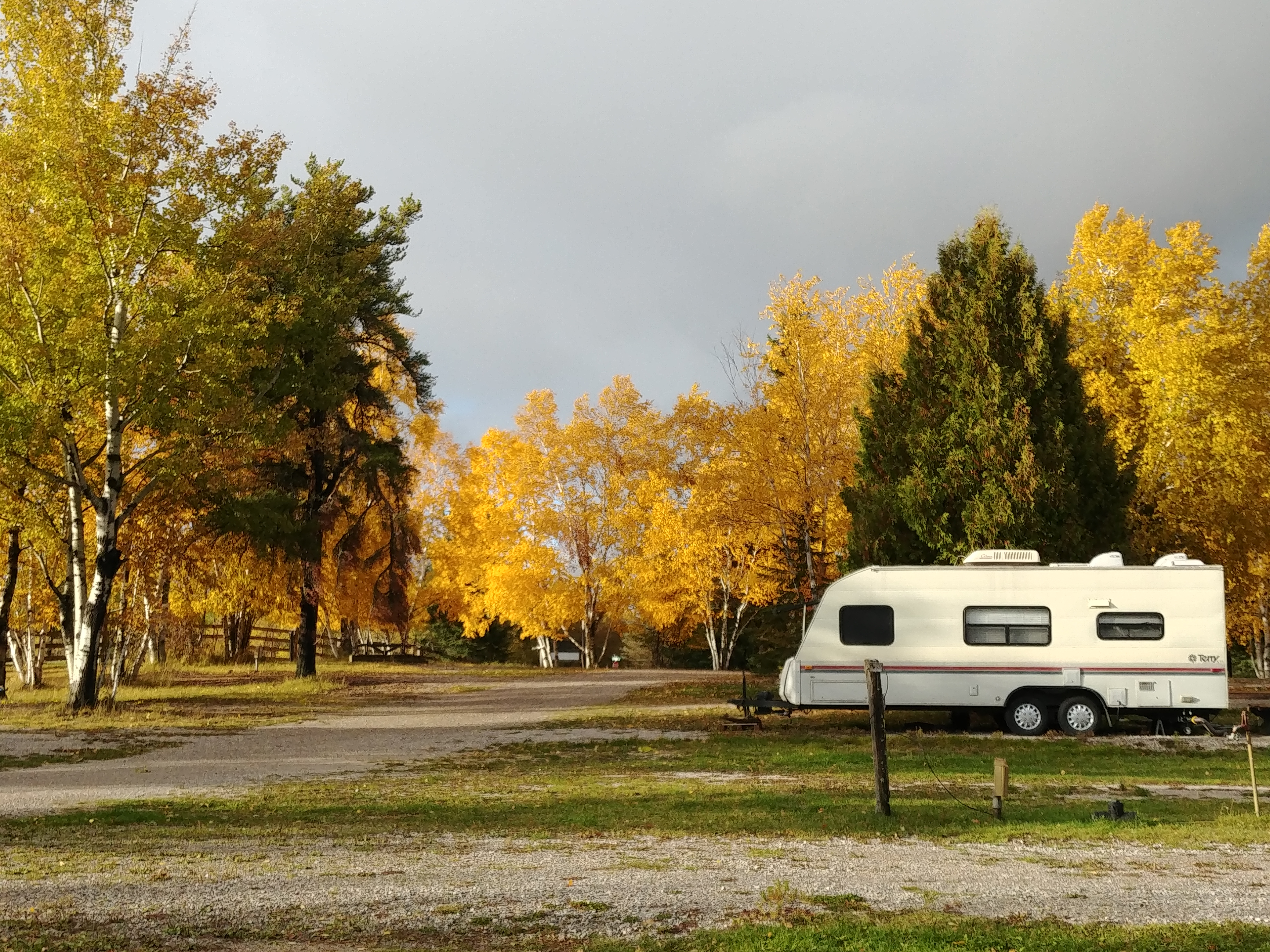 rv park dryden natures inn fall