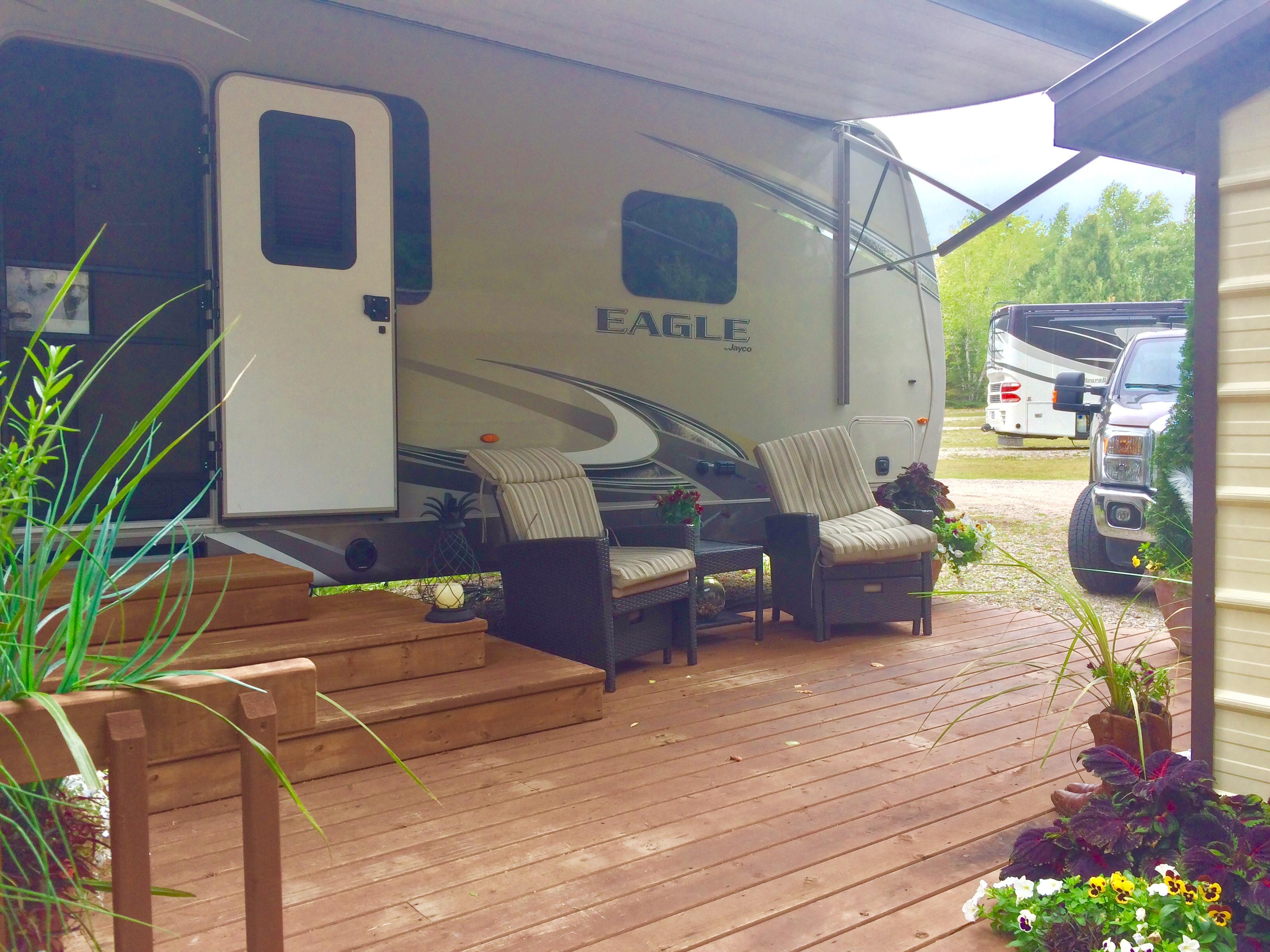 rv park dryden natures inn campsite